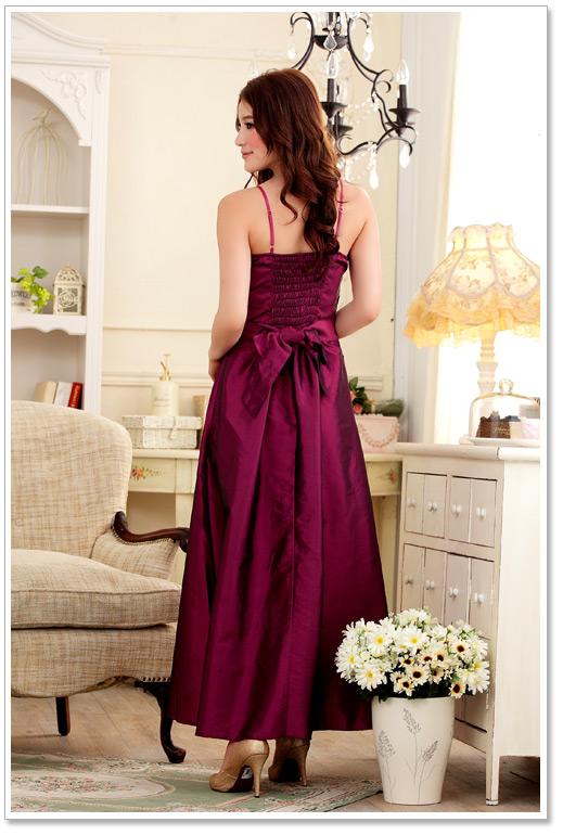 ... Langes Satin-Abendkleid in Himbeer - hier günstig online bestellen 62c5b44a80