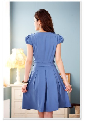 Blaues Abendkleid mit Esprit - online bestellen bei vipdress.de