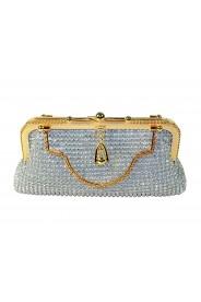 Silberne Abendtasche von erlesenem Design