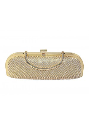 Längliche Clutch in Gold mit Henkel und Schmucksteinbesatz - <br /> <b>Notice</b>:  Undefined index: altTail in <b>/home/vipdress/public_html/tools/smarty/compile/3a21d04bf1b909ed03be781795539a91ac65494e.file.product.tpl.php</b> on line <b>264</b><br />