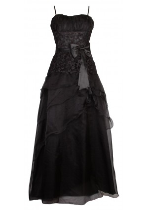 Detailreiches Abendkleid in noblem Schwarz - <br /> <b>Notice</b>:  Undefined index: altTail in <b>/home/vipdress/public_html/tools/smarty/compile/3a21d04bf1b909ed03be781795539a91ac65494e.file.product.tpl.php</b> on line <b>264</b><br />