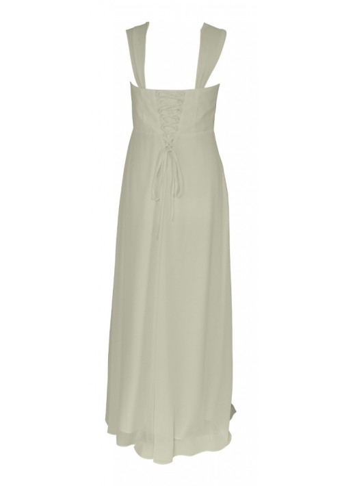 Elegantes Abendkleid in zartem Creme - günstig bei VIP Dress