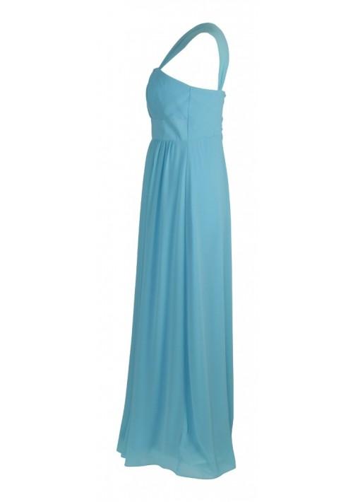 Modisches Abendkleid in Hellblau - bei vipdress.de günstig shoppen