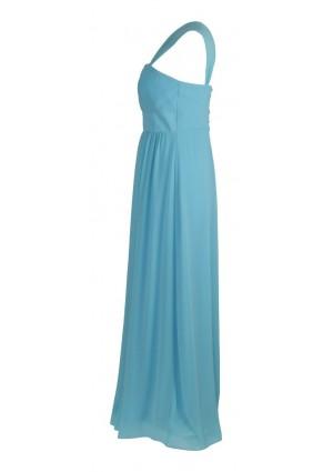Modisches Abendkleid in Hellblau - hier günstig online bestellen
