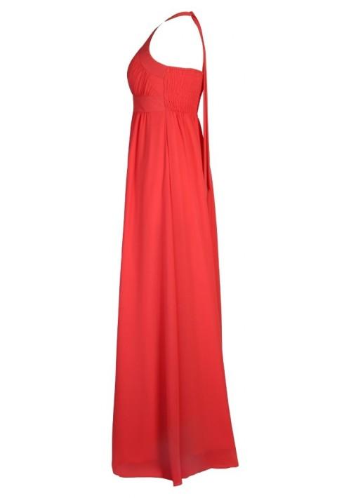 Auffälliges Abendkleid in Koralle - bei VIP Dress online bestellen