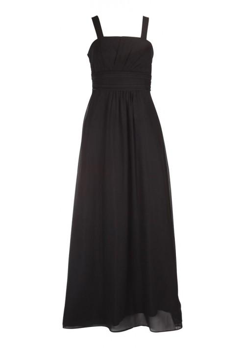 Klassisches Abendkleid in Schwarz mit Miederschnürung - günstig shoppen bei vipdress.de