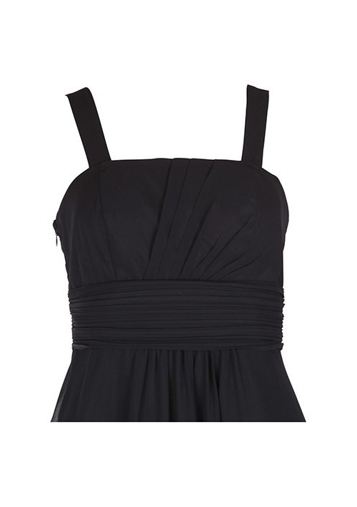 Klassisches Abendkleid in Schwarz mit Miederschnürung - hier günstig online bestellen