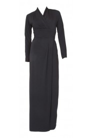 Stilvolles Festkleid in Schwarz