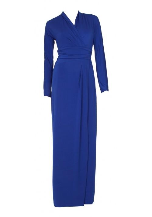 Edles Festkleid in Royalblau - günstig bestellen bei VIP Dress