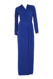 Edles Festkleid in Royalblau