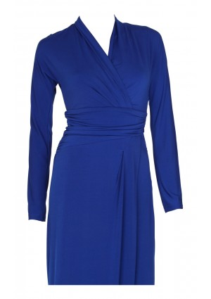 Edles Festkleid in Royalblau - bei VIP Dress online bestellen