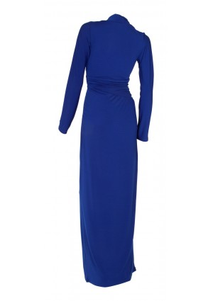 Edles Festkleid in Royalblau - bei VIP Dress online bestellen