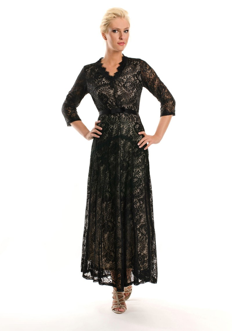 spitzenkleid bei vip dress abendkleider aus spitze. Black Bedroom Furniture Sets. Home Design Ideas