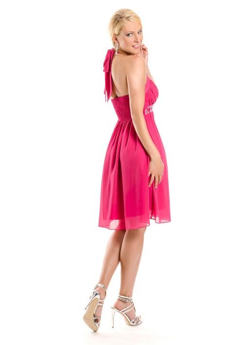 Cocktailkleid in Pink im Empirestil - günstig bestellen bei VIP Dress