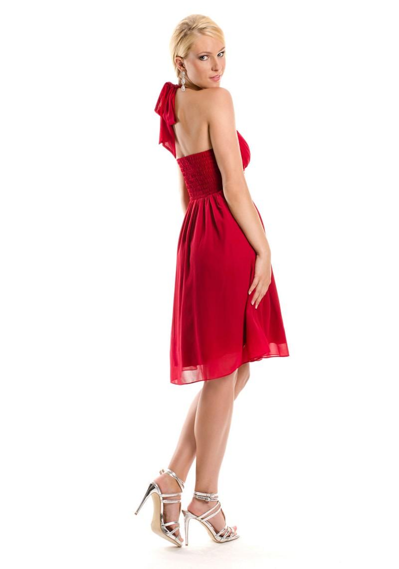 Groß Rotes Cocktailkleid Junioren Fotos - Brautkleider Ideen ...