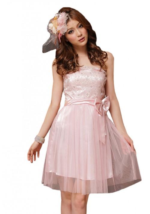 Cocktailkleid in zartem Rosa - bei VIP Dress online bestellen