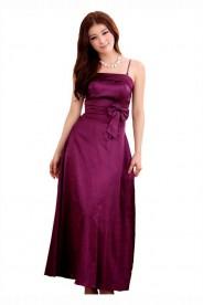 Stilvoll geschnittenes Abendkleid in Lila
