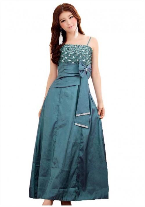 Glamour-Abendkleid in Grün - günstig kaufen bei vipdress.de