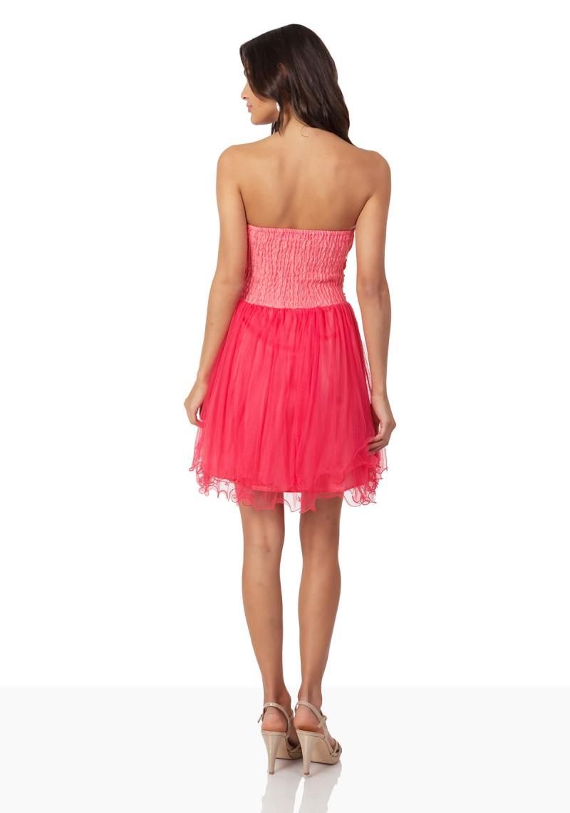 cocktailkleid mit aufwendigem bustier in pink online kaufen. Black Bedroom Furniture Sets. Home Design Ideas