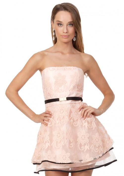 Rosa Abendkleid für den besonderen Moment - online bestellen bei vipdress.de