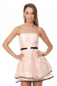 Rosa Abendkleid für den besonderen Moment