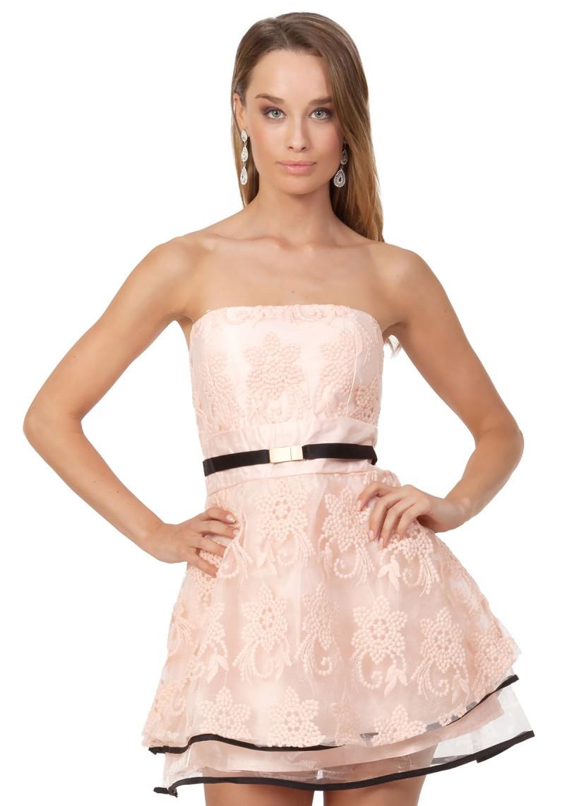 Abendkleid / Abiballkleid im Lagenlook online bestellen ✮
