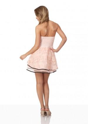 Rosa Abendkleid für den besonderen Moment - bei vipdress.de günstig shoppen
