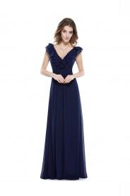 Langes Abendkleid für stilvolle Anlässe in Blau
