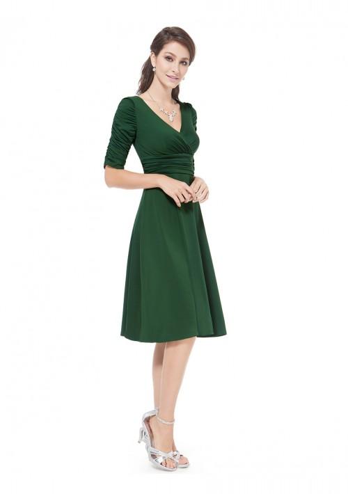 Chiffon Cocktailkleid in Grün - günstig bestellen bei VIP Dress