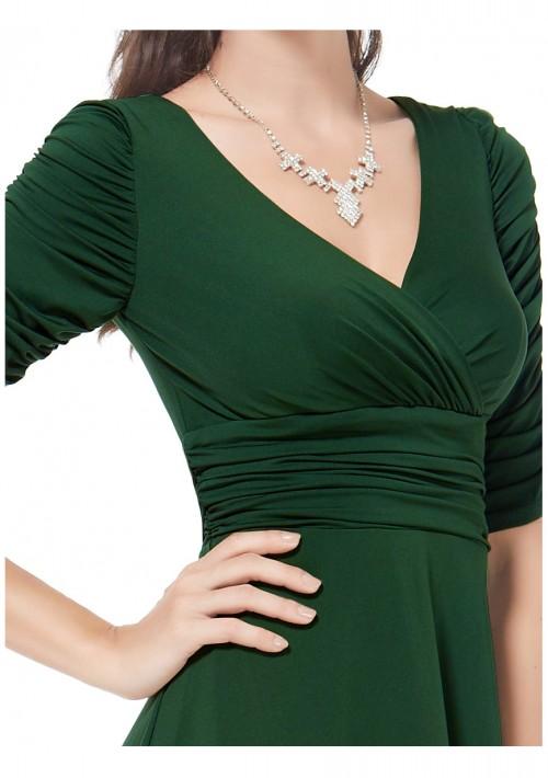 Chiffon Cocktailkleid in Grün - bei VIP Dress online bestellen