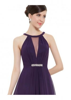 Elegantes langes Abendkleid in Lila - online bestellen bei vipdress.de