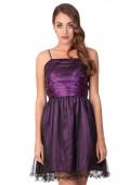 Abiball-Kleid mit verspieltem Look in Lila
