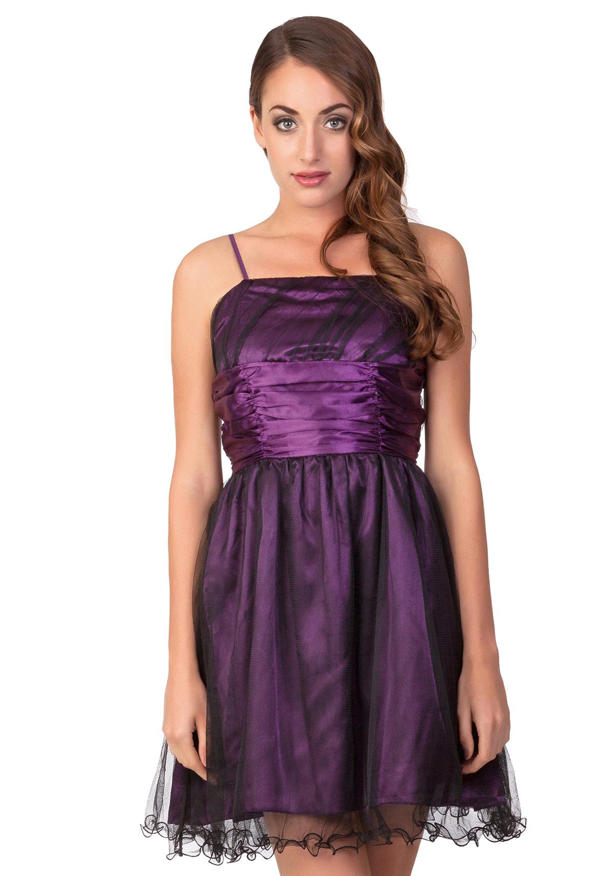 standesamtkleid mit schleife in lila g nstig online kaufen. Black Bedroom Furniture Sets. Home Design Ideas