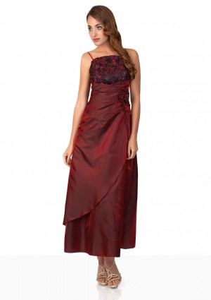 Abendkleid in elegantem Rot - günstig bestellen bei VIP Dress