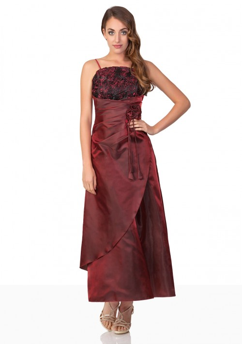 Abendkleid in elegantem Rot - bei VIP Dress online bestellen