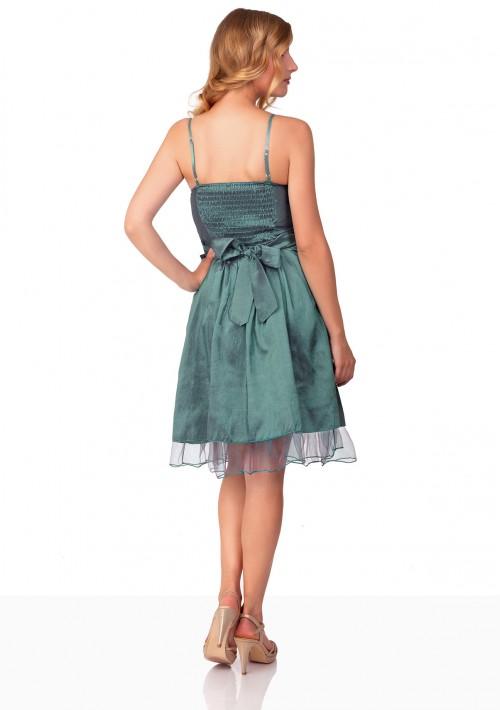 Cocktailkleid in Grün mit Satin und Tüll  - schnell und günstig bei VIP Dress