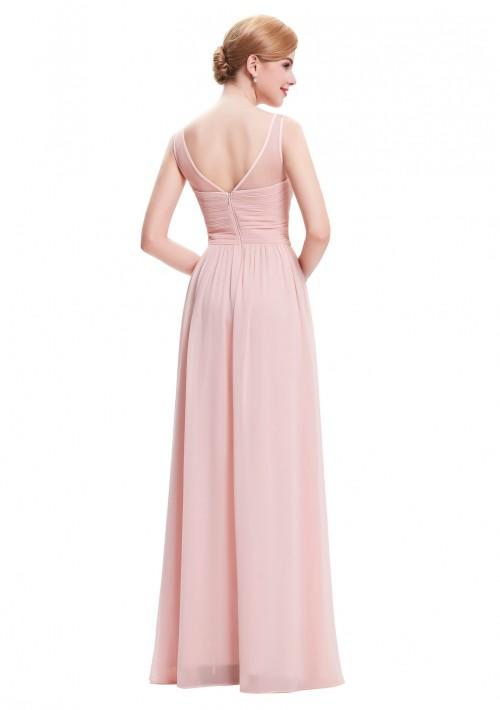 Langes Träger-Abendkleid in Rosa - günstig bestellen bei VIP Dress