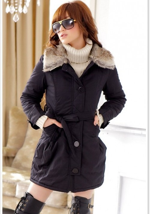 Moderne Damenjacke in Schwarz - günstig bei VIP Dress