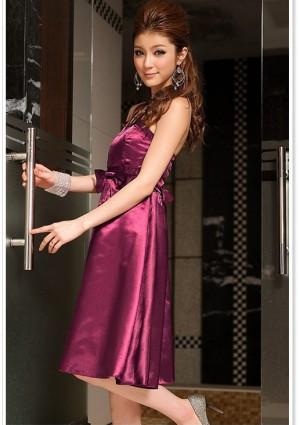 Satin-Cocktailkleid in Lila - bei VIP Dress online bestellen