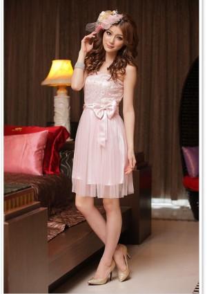 Cocktailkleid in zartem Rosa - günstig bei VIP Dress