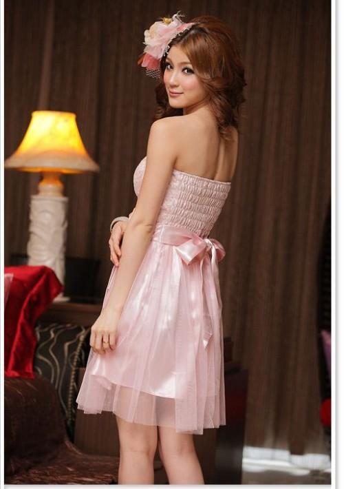 Cocktailkleid in zartem Rosa - bei VIP Dress günstig kaufen