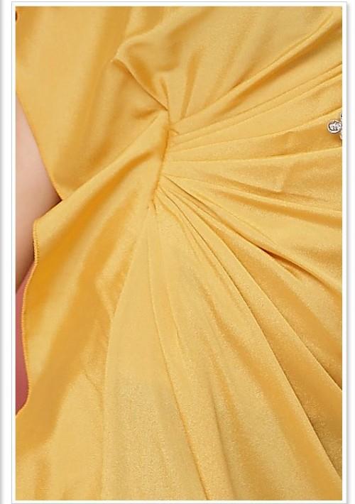 Vintage Partykleid in Gelb mit kurzen Ärmeln - günstig bestellen bei VIP Dress
