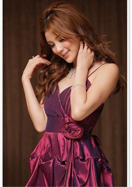Stilvolles Ballon-Cocktailkleid in modischem Lila - günstig bestellen bei VIP Dress