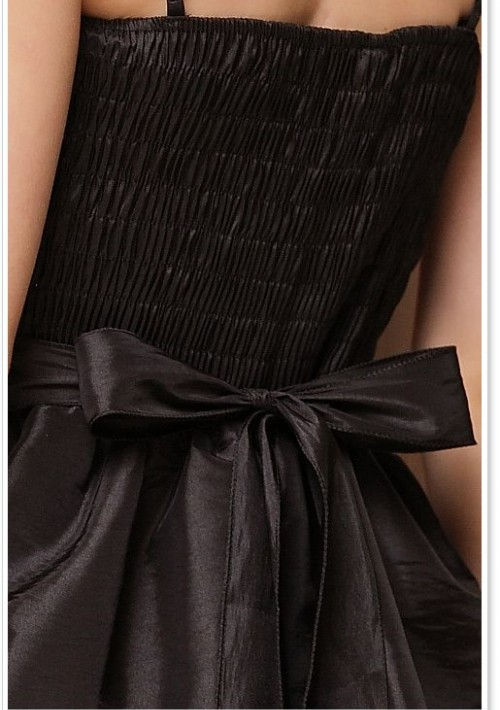 Ballkleid mit Pailletten und Tüll in Schwarz - bei VIP Dress günstig kaufen