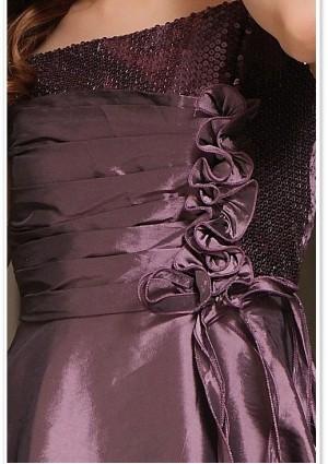 Kurzes Abendkleid in Lila  - bei VIP Dress günstig kaufen