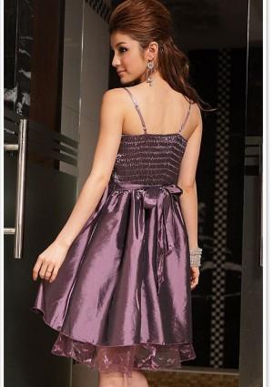 Kurzes Abendkleid in Lila  - günstig bei VIP Dress