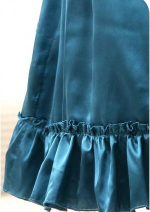 Elegantes Bandeaukleid in Blau - bei VIP Dress online bestellen