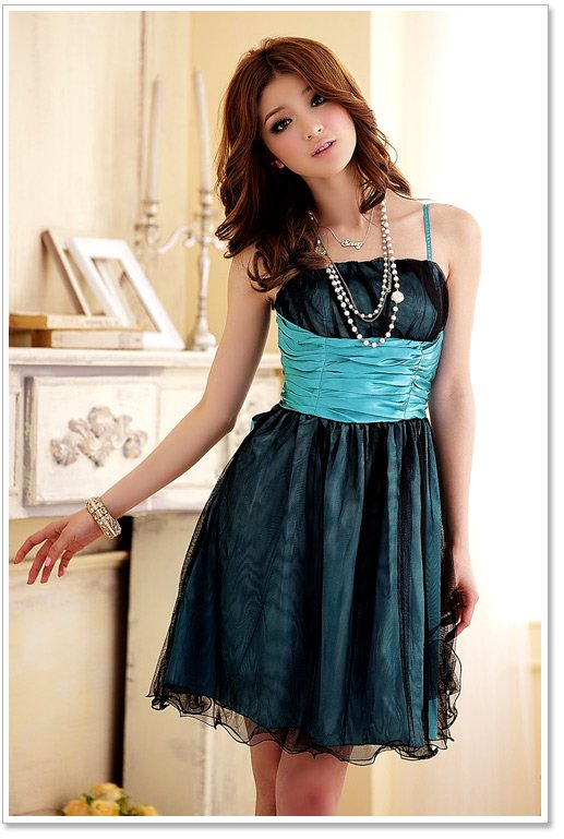 kurzes cocktailkleid tanzkleid abiballkleid gr n blau lila in gr 32 52 ebay. Black Bedroom Furniture Sets. Home Design Ideas