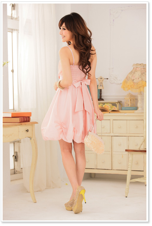 cocktailkleid kurz jugendweihekleid satin tanzkleid in rosa gr 32 52 ebay. Black Bedroom Furniture Sets. Home Design Ideas